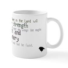 Isaiah 40:31 Small Mug