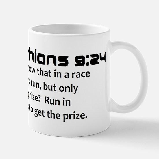 1 Corinthians 9:24 Mug