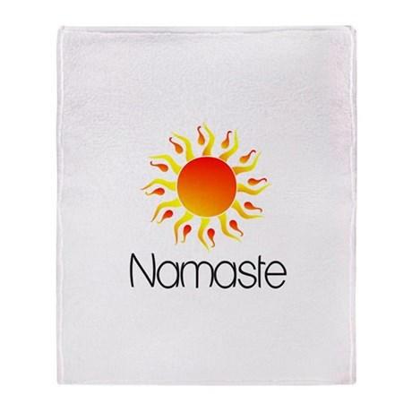 Namaste Sun 3 Throw Blanket