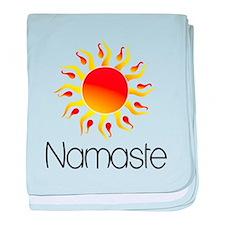 Namaste Sun 3 baby blanket