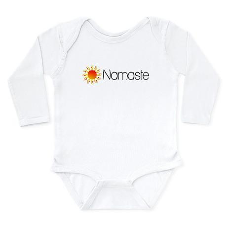Namaste Sun 2 Long Sleeve Infant Bodysuit