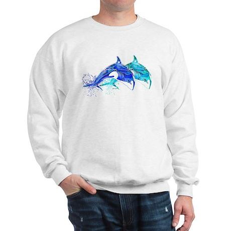 Whale Twins Sweatshirt