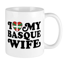 I Love My Basque Wife Mug