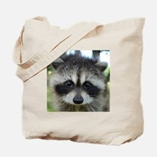 Unique Raccoon Tote Bag