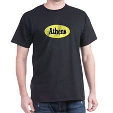 Athens, Georgia Black T-Shirt