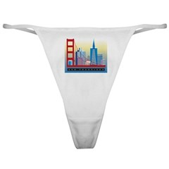 City Themes Classic Thong