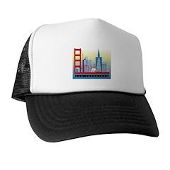 City Themes Trucker Hat