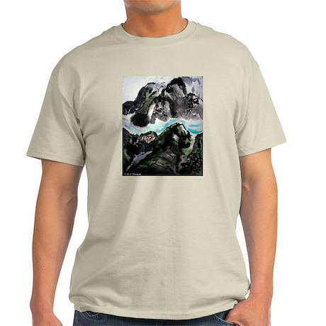 Chinese, Landscape, Light T-Shirt