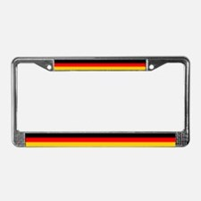 German Flag License Plate Frame