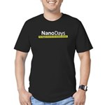 NISE Net NanoDays Men's Fitted T-Shirt (dark)