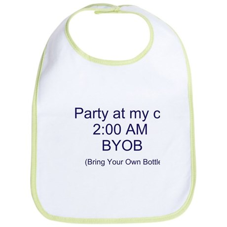 Party at my crib bib- Boys & Girls