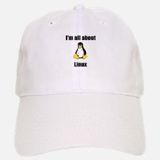 Tux: I'm All About Linux! Cap