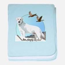 Labs simply the best baby blanket