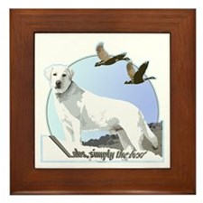 Labs simply the best Framed Tile