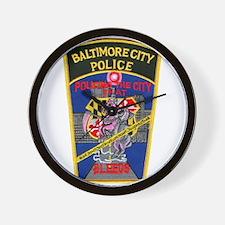 Baltimore City Police Wall Clock