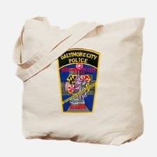 Baltimore City Police Tote Bag