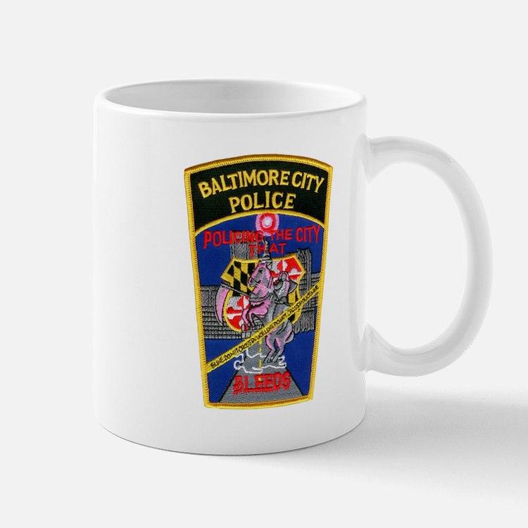 Baltimore City Police Mug