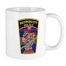 Baltimore City Police Mug