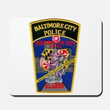 Baltimore City Police Mousepad