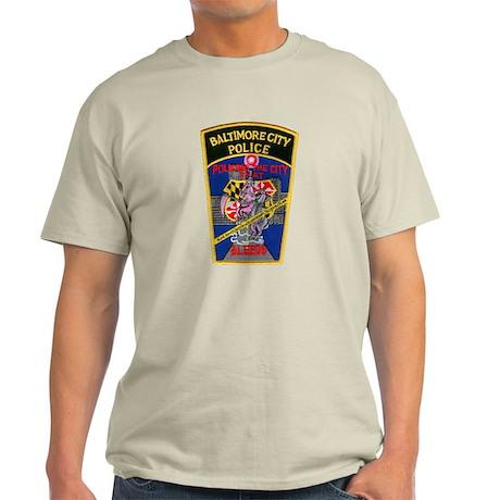 Baltimore City Police Light T-Shirt