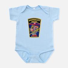 Baltimore City Police Infant Bodysuit