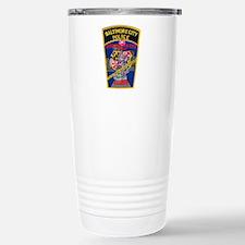 Baltimore City Police Stainless Steel Travel Mug