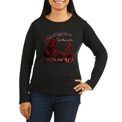 Don C Women's Long Sleeve Dark T-Shirt