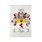 Stopa Family Crest Rectangle Magnet (100 pack)