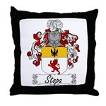 Stopa Family Crest Throw Pillow
