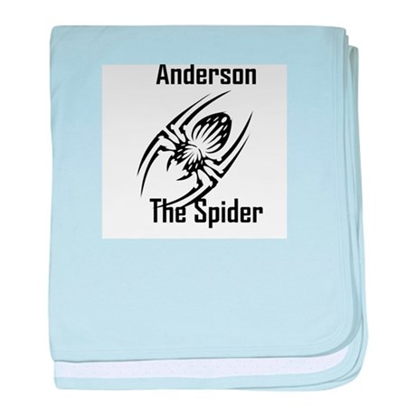 Anderson The Spider baby blanket