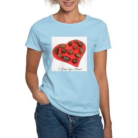 Mom Candy Heart Women's Light T-Shirt