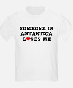Someone in Antarctica Kids T-Shirt