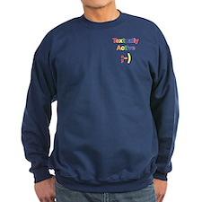 Textually Active Rainbow Sweatshirt