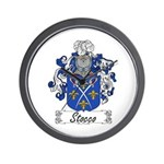 Stocco Coat of Arms Wall Clock