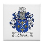 Stocco Coat of Arms Tile Coaster