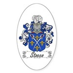 Stocco Coat of Arms Oval Sticker