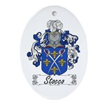 Stocco Coat of Arms Oval Ornament