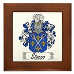 Stocco Coat of Arms Framed Tile