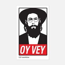 Oy-Vey Label Decal