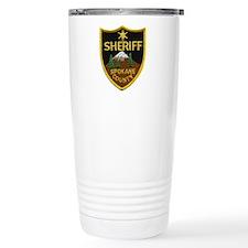 Spokane County Sheriff Travel Coffee Mug