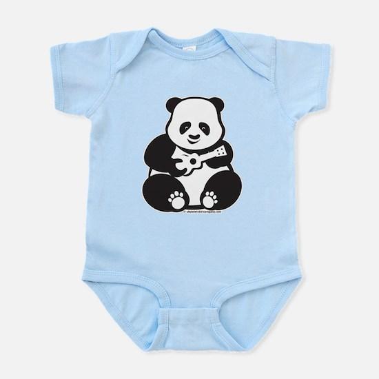 Ukulele Panda Baby Infant Bodysuit