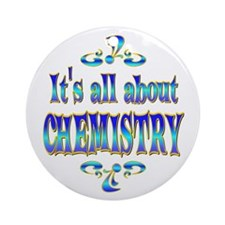 About Chemistry Ornament (Round)