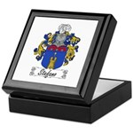 Stefano Family Crest Keepsake Box