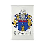 Stefano Family Crest Rectangle Magnet (100 pack)