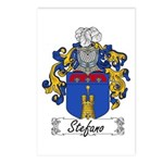 Stefano Family Crest Postcards (Package of 8)