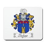 Stefano Family Crest Mousepad
