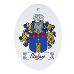 Stefano Family Crest Oval Ornament