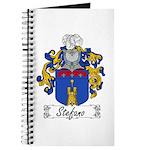 Stefano Family Crest Journal