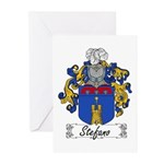 Stefano Family Crest Greeting Cards (Pk of 10)