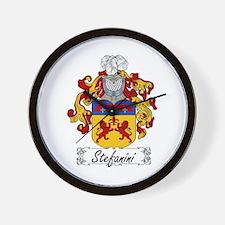 Stefanini Coat of Arms Wall Clock